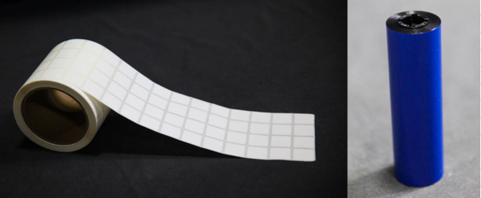 Blank Paper Labels for On Demand Printing in Medical Environments