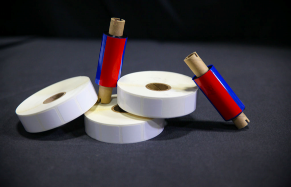 Blank Polyester Labels for On Demand Printing in Medical Environments