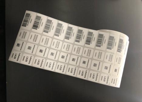 Preprinted Medical Labels and Barcode Labels